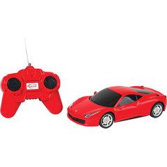 Radiovadāms automodelis RASTAR1:24 Ferrari 458 Italia 46600 cena un informācija | Radiovadāmās rotaļlietas | 220.lv