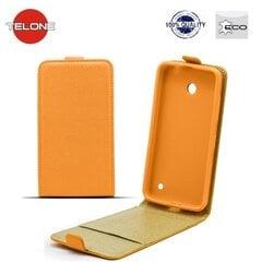 Telone Shine Pocket Slim Flip Case Samsung G925 Galaxy S6 Edge вертикальный Чехол-книжка Оранжевый