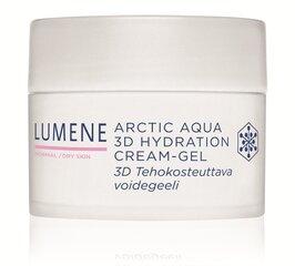 Mitrinošs krēms - gēls Lumene Arctic Aqua 3D, 50 ml cena un informācija | Krēmi | 220.lv