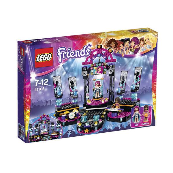 Konstruktors Lego Friends Pop Star Show Stage 41105 cena un informācija | LEGO | 220.lv