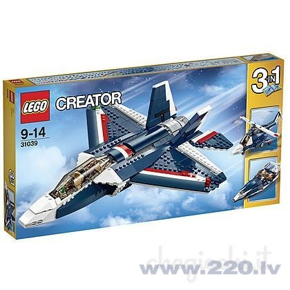 Конструктор Lego Creator Blue Power Jet 31039 цена и информация | LEGO | 220.lv