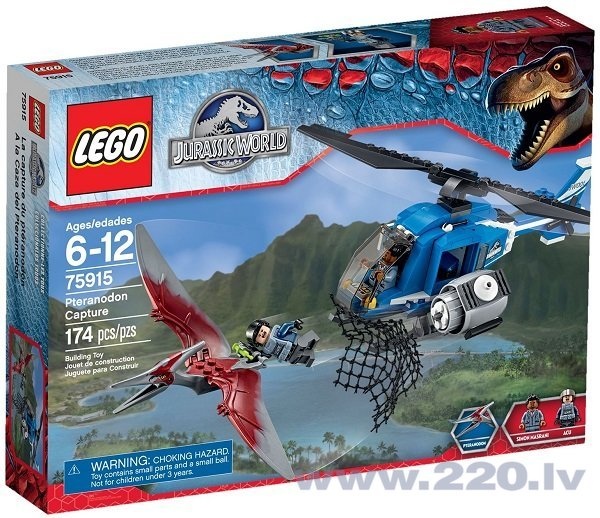 Конструктор Lego Jurassic World Pteranodon Capture 75915  цена и информация | LEGO | 220.lv