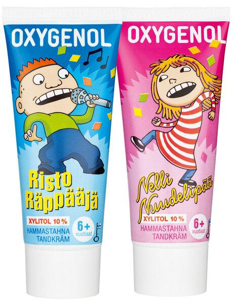 Bērnu zobu pasta Muumi Oxygenol (6-12 g) 50 ml cena un informācija | Bērnu kosmētika | 220.lv