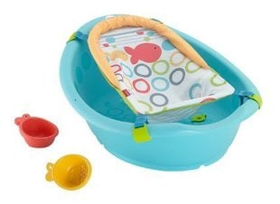 Bērnu vanna Fisher Price Rinse 'n Grow, regulējama