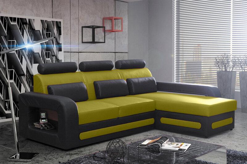 Mīksts stūra dīvāns Bergamo Mini cena un informācija | Dīvāni | 220.lv