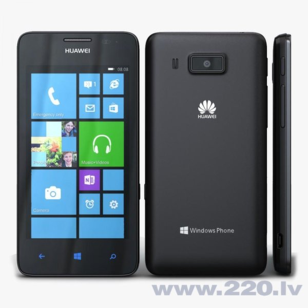 Huawei W2 Ascend Black Windows Phone (Черный) цена и информация | Mobilie telefoni | 220.lv