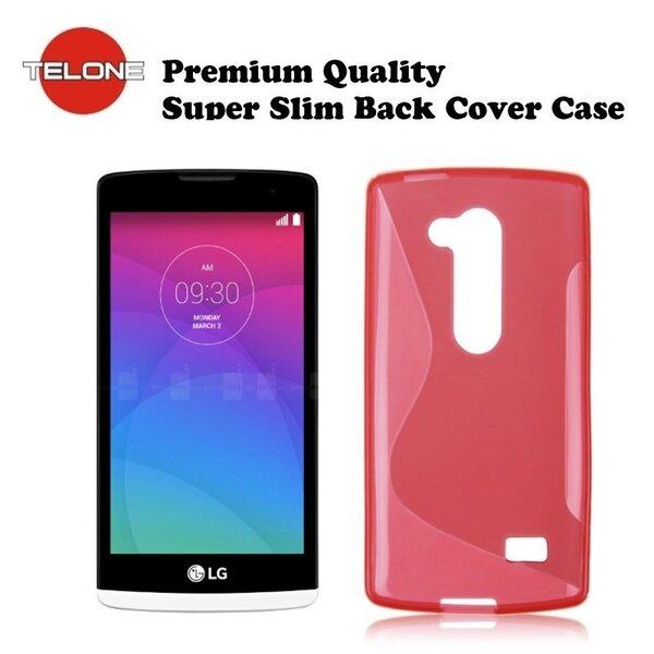 Telone Back Case S-Case gumijots telefona apvalks LG H340N Leon Koraļu cena un informācija | Maciņi, somiņas | 220.lv
