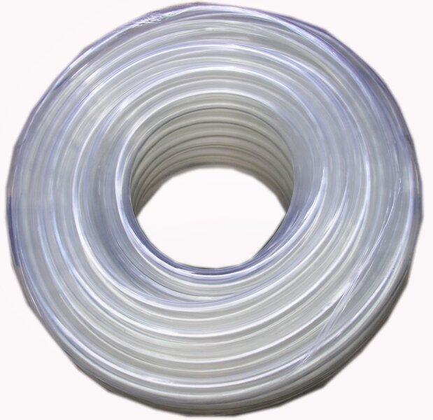Laistīšanas šļūtene PVC caurspīdīga 5/8x25m cena un informācija | Laistīšanas ierīces | 220.lv