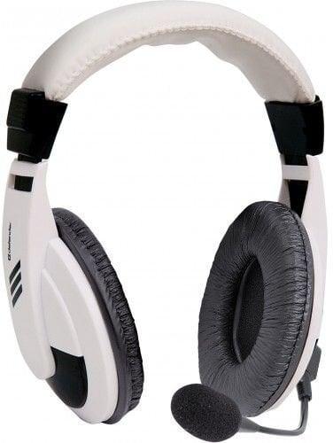 Defender Gryphon HN-750 White cena un informācija | Austiņas | 220.lv