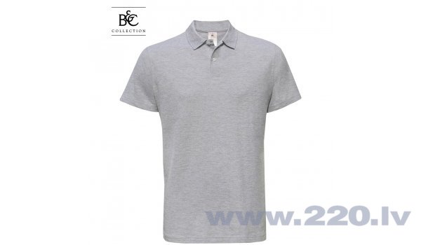 Polo T-krekls B & C ID001 pelēks cena un informācija | Darba apģērbi | 220.lv