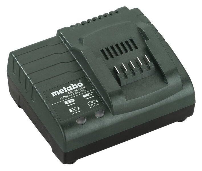 Lādētājs Metabo ASC 30-36 V EU cena un informācija | Elektriskie skrūvgrieži un urbji | 220.lv