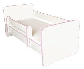 Bērnu gulta ar matraci un noņemamu maliņu Ami R, 140x70cm