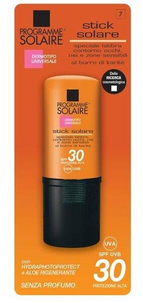 Lūpu balzams ar saules aizsardzības SPF 30 Programme Solaire 8 ml cena un informācija | Iedegumam | 220.lv
