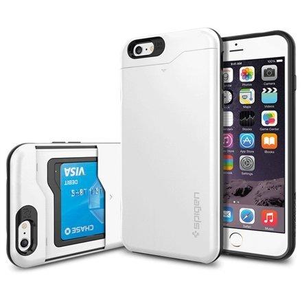 Чехол Spigen Slim Armour CS для телефона Apple iPhone 6 Plus, Белый цена и информация | Maciņi, somiņas | 220.lv