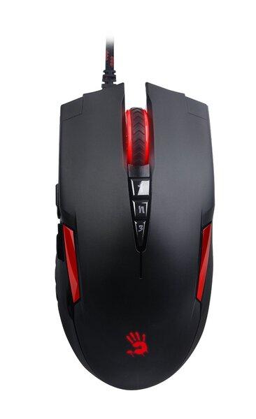 A4Tech Bloody Gaming Mouse V2M USB cena un informācija | Peles | 220.lv