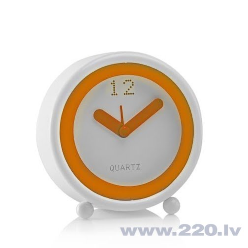 Galda pulkstenis Konturo Orange cena un informācija | Pulksteņi | 220.lv