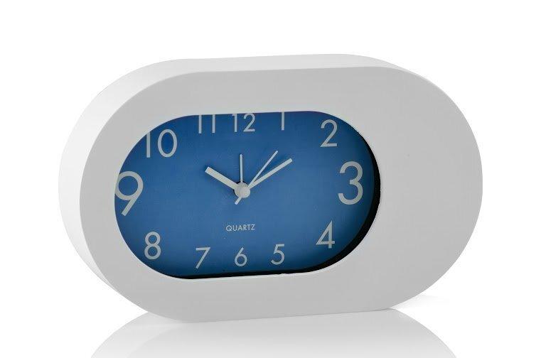 Galda pulkstenis Oval Blue cena un informācija | Pulksteņi | 220.lv
