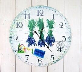 Sienas pulkstenis Lavender