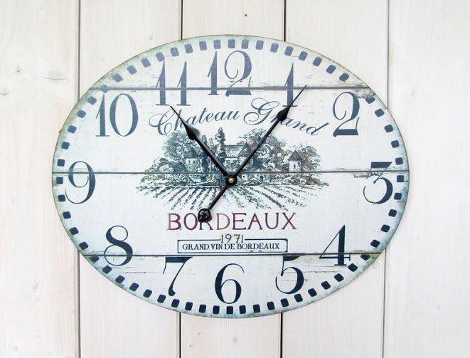 Sienas pulkstenis Bordeux cena un informācija | Pulksteņi | 220.lv