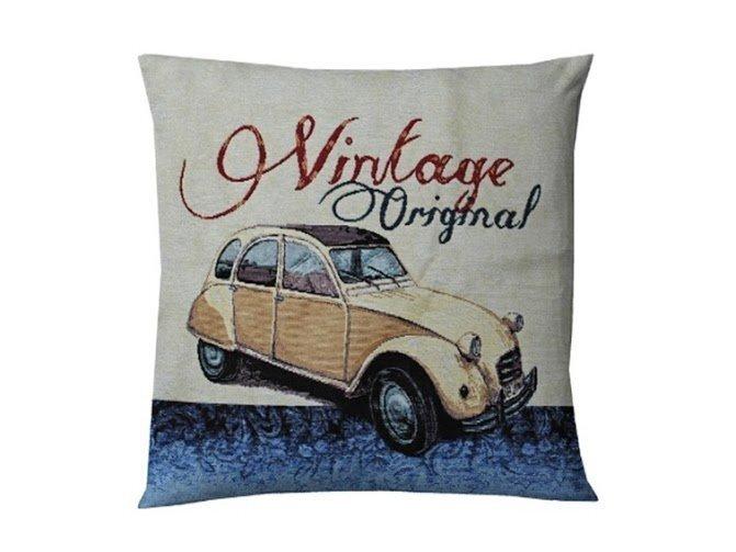 Dekoratīva spilvendrāna Vintage, 45x45 cm cena un informācija | Dekoratīvie spilveni | 220.lv