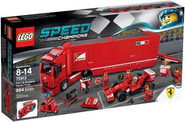 Konstruktors Lego Speed Champions F14 T & Scuderia Ferrari Truck 75913 cena un informācija | LEGO | 220.lv