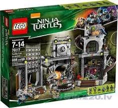 Конструктор Lego Ninja Turtles Lair Invasion V29 79117 цена и информация | LEGO | 220.lv