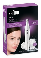 BRAUN sejas epilators Face 820 Epilation & Cleansing