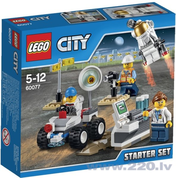 Конструктор Lego 60077 Space Starter Set​ цена и информация | LEGO | 220.lv
