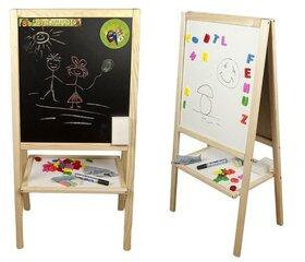 Divpusēja koka zīmēšanas tāfele MMB11 3toysm