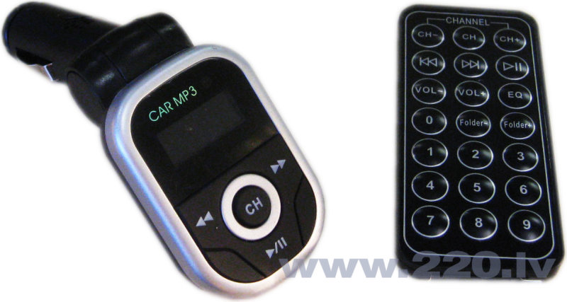 Auto MP3 atskaņotājs cena un informācija | FM Modulatori | 220.lv