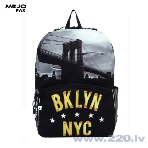 "Рюкзак Mojo ""Brooklyn New York"" Multi Цвет цена и информация 