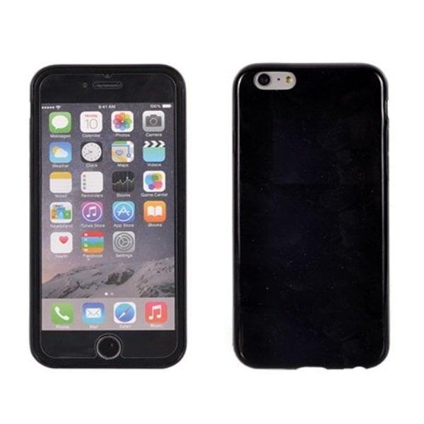Telone Candy Super Plāns 0.3mm Silikongēla Telefona Apvalks ar spīdumiem Samsung Galaxy S6 Edge (G925) Melns cena un informācija | Maciņi, somiņas | 220.lv