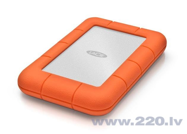LaCie Rugged Mini 1TB USB3.0 cena un informācija | HDD - ārējie | 220.lv