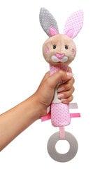 BabyOno rotaļlieta - graužāmais, grabulis zaķis JULIA, 621 cena un informācija | BabyOno rotaļlieta - graužāmais, grabulis zaķis JULIA, 621 | 220.lv