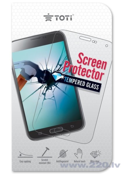 TEMPERED ScreenGlass Protector for Huawei P8 LITE цена и информация | Ekrāna aizsargplēves | 220.lv