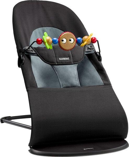 Babybjorn Šūpuļkrēsls Balance soft + koka rotaļlieta 605011A