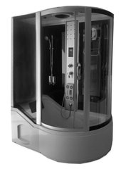Masāžas dušas kabīne KM810 ar burbuļvannu cena un informācija | Hidromasāžas dušas kabīnes | 220.lv