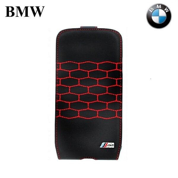 BMW BMFLS4MSR Коллекция M-Sport вертикальный чехол для мобильного телефона Samsung i9500 Galaxy S4, Чёрный (EU Blister) цена и информация | Maciņi, somiņas | 220.lv