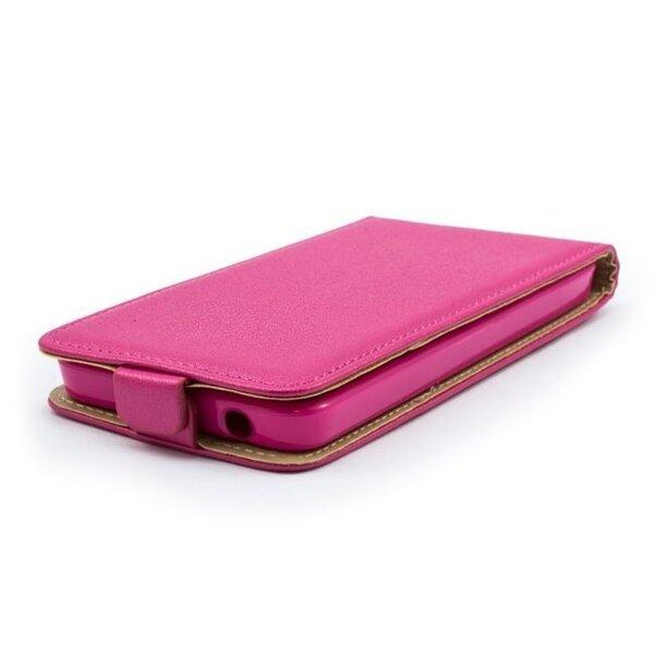 Bертикальная чехол - книжка Telone Shine Pocket Slim Flip Case  Apple iPhone 6, розовый цена и информация | Maciņi, somiņas | 220.lv