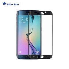 Aizsargplēve-stikls BS Tempered Glass 9H Extra Shock Full Face priekš Samsung G925 Galaxy S6 Edge Melns