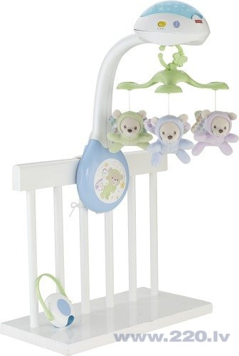 Fisher Price muzikālais karuselis, CDN41