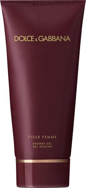 Dušas želeja Dolce & Gabbana Pour Femme 250 ml cena un informācija | Parfimēta sieviešu kosmētika | 220.lv
