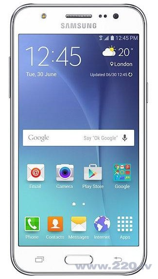 Samsung J500H/DS Galaxy J5 Dual White (Balts) цена и информация | Mobilie telefoni | 220.lv