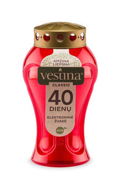 Vestina Eco Elektroniskā kapu svece 17 cm cena un informācija | Sveces un svečturi | 220.lv