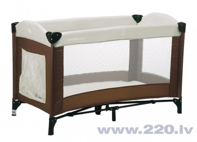Gultiņa-manēža BRITTON Compact cena un informācija | Manēžas | 220.lv