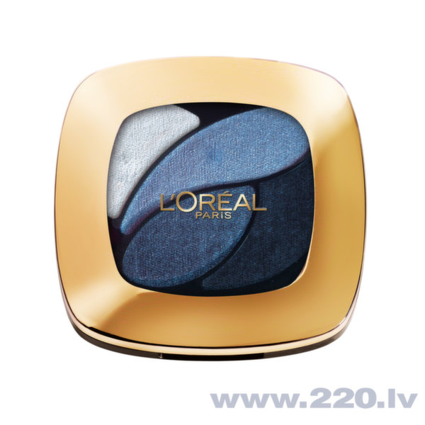 L'Oreal Paris Color riche quads eyeshadows - acu ēnas, 2.5 g