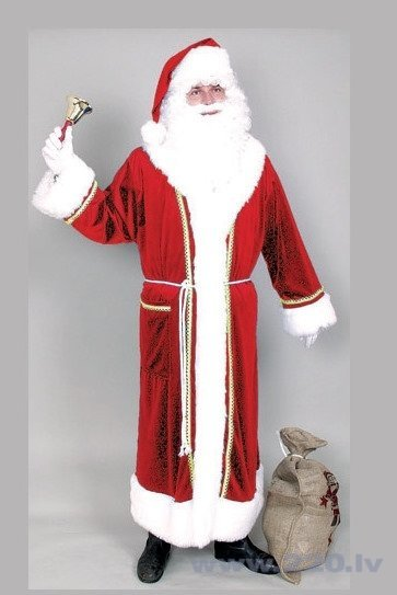 Ziemassvētku vecīša kostīms cena un informācija | Karnevāla kostīmi, maskas un parūkas | 220.lv