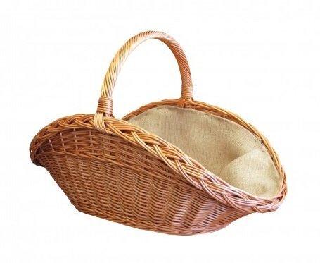 Плетеная корзина для хранения древесины цена и информация | Kamīnu un krāšņu aksesuāri | 220.lv