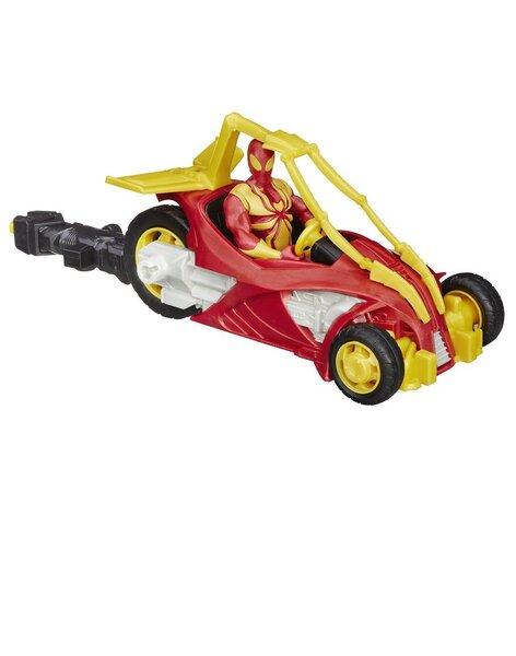 Figūra Hasbro SPIDERMAN uz motocikla cena un informācija | Supervaroņi, figūras | 220.lv