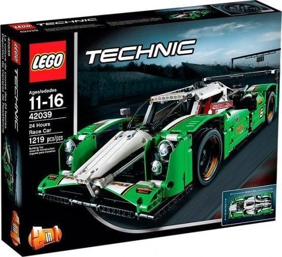 Konstruktors Lego Technic 24 Hours Race Car 42039 cena un informācija | LEGO | 220.lv
